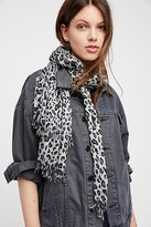 Free People Jungle Love Printed Scarf