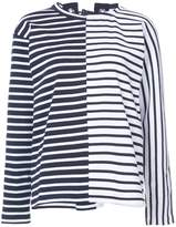 Sacai lace back breton top