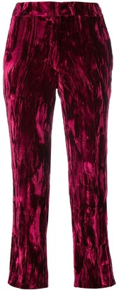 Koché cropped tailored trousers