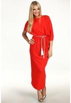 Alejandra Sky Beatrice Dress (Coral) - Apparel