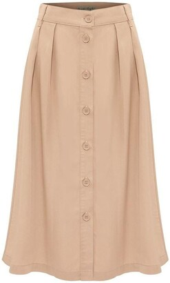 Phase Eight Bel-Marie Button Through Skirt
