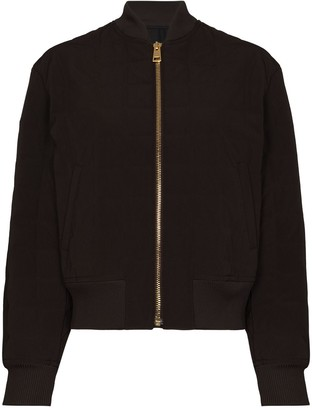 Bottega Veneta Scuba quilted bomber jacket