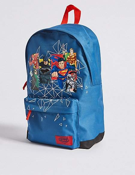Marks and Spencer Kids' Justice LeagueTM Backpack
