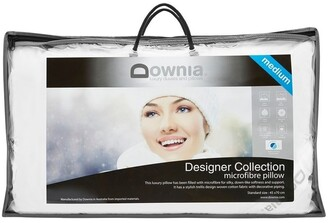 Downia Designer Collection Microfibre Pillow White