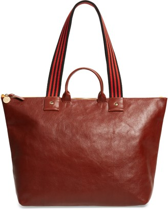 Clare Vivier Claire V. Le Zip Leather Tote