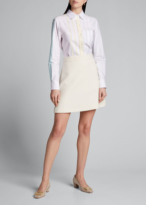 Thom Browne Classic Striped Button-Down Oxford Shirt