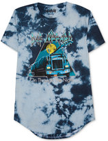 Hybrid Men's Def Leppard Tie-Dyed T-Shirt