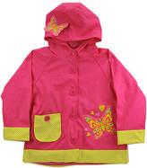 Western Chief Girls' Butterfly Star Raincoat