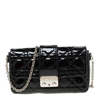 Christian Dior New Lock Black Patent leather Clutch bags