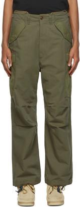 Nanamica Green Cordura Cargo Trousers