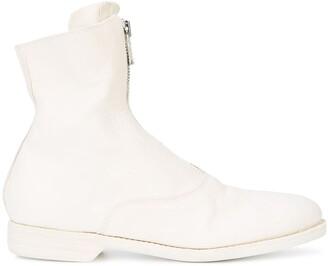 Guidi Front-Zipped Fitted Boots