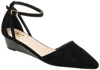 Journee Collection Arkie Sliver Wedge Pump