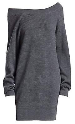 Alexander Wang Women's Double Layer Sweater Dress