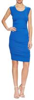 Nicole Miller Jersey Ruched Tank Sheath Dress