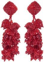Sachin + Babi Grapes Earrings | Red