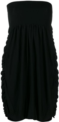 Moschino Pre-Owned strapless balloon dress