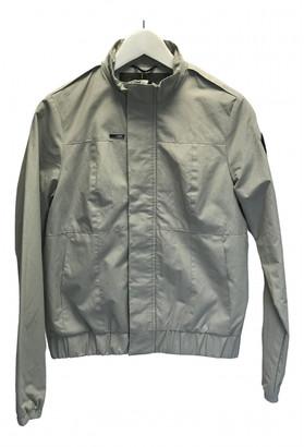Nobis Grey Cotton Jacket for Women