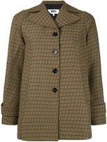 MM6 MAISON MARGIELA check woven jacket - women - Acrylic/Polyester/Viscose - 38