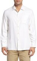 Tommy Bahama Catalina Twill Classic Fit Silk Camp Shirt