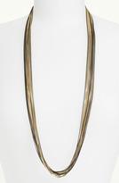 Cara Long Multistrand Necklace