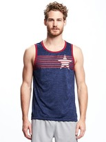 Old Navy Go-Dry Graphic Performance Tank for Men