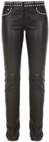 Saint Laurent Studded Leather Pants