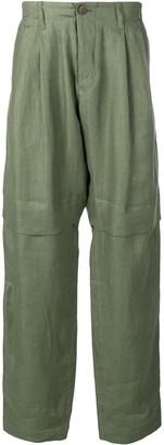 Societe Anonyme Drop-Crotch Trousers