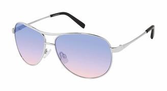 Jessica Simpson Women's J106 Aviator Sunglasses with 100% UV Protection 60 mm