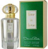 Oscar de la Renta 13843940706 Live In Love Eau De Parfum Spray - 50ml-1.7oz