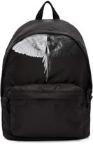 Marcelo Burlon County of Milan Black Aish Backpack