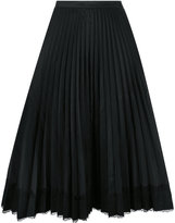 RED Valentino pleated skirt - women - Polyester - 38