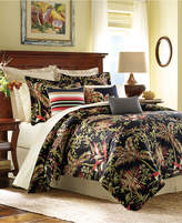 Tommy Bahama Jungle Drive Floral-Print California King Comforter Set Bedding