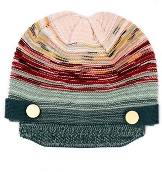 Missoni Knit Hat with Brim