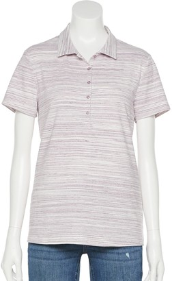 Croft & Barrow Women's Essential Classic Polo Shirt