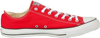 Converse Unisex Chuck Taylor All Star Low Top Optical White Sneakers - 6.5 B(M) US Women / 4.5 D(M) US Men