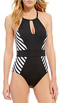 LaBlanca La Blanca Mime Games High Neck One-Piece