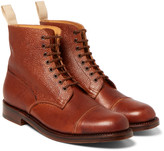 Grenson - Pebble-grain Leather Boots