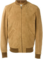 A.P.C. The Ferris bomber jacket - men - Calf Leather/Polyester - XL
