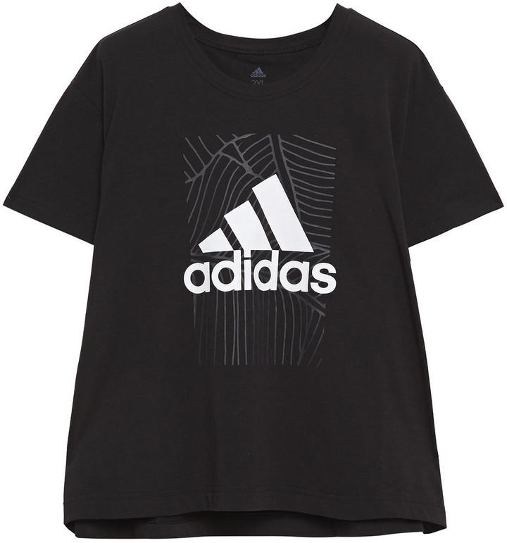adidas Printed Stretch-jersey T-shirt