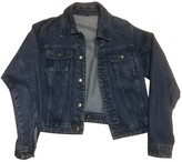 Just Cavalli Navy Denim - Jeans Jacket for Women Vintage