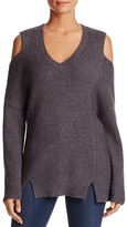 Lysse Riley Cold Shoulder Tunic Sweater