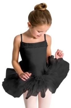 Capezio Big Girls Ruffle Yoke Tutu Dress