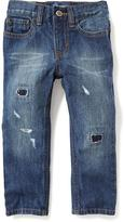 Old Navy Skinny Rip-and-Repair Jeans for Toddler