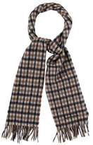 Aquascutum London Plaid Wool Scarf w/ Tags