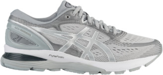 Asics GEL-Nimbus 21 Running Shoes - Mid Grey / Silver
