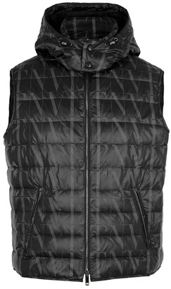 Valentino VLTN Times printed quilted shell gilet