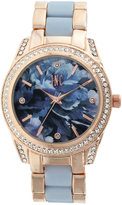 INC International Concepts Women's Two-Tone Bracelet Watch 40mm IN012RG, Only at Macy's
