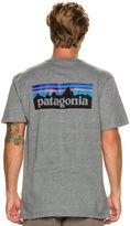 Patagonia P-6 Logo Ss Tee
