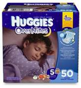 Huggies Overnites Diapers 50-Count Size 5 Big Pack Diapers