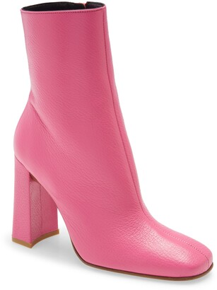 BY FAR Elliot Leather Ankle Boot